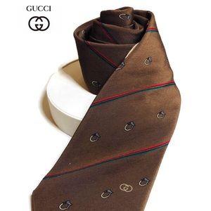 Vintage Gucci Men's Tie